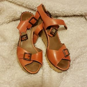 Eric Michael's made in Spain espadrilles wedges
